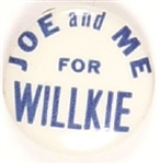 Joe Louis and Me for Willkie