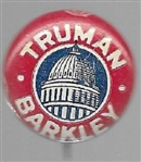 Truman, Barkley Capitol Pin