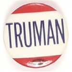 Truman Scarce Red, White, Blue Celluloid