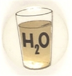 Goldwater H20 Glass of Water