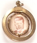 John F. Kennedy Charm with Inaugural Quote
