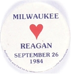Milwaukee Loves Reagan September 1984