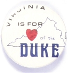 Virginia is for Dukakis