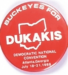 Buckeyes for Dukakis Ohio Celluloid
