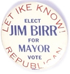 Let Ike Know, Elect Jim Barr Mayor Indianapolis Coattail