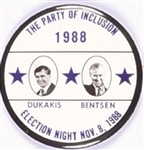 Dukakis, Bentsen Party of Inclusion
