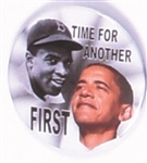 Obama, Jackie Robinson Time for Another First