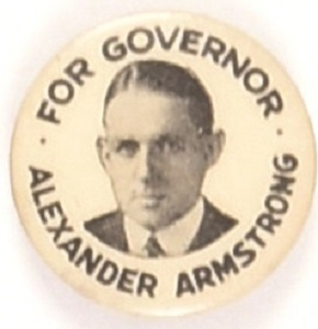 Alexander Armstrong for Governor of Maryland