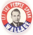George Wallace Let the People Speak