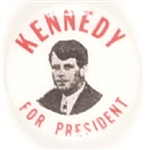 Robert Kennedy for President 1 inch Celluloid