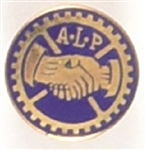 American Labor Party Enamel Stud