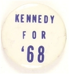 Kennedy for 68 Blue Letters