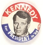 Robert Kennedy for President in 68 Picture Pin