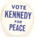 Vote Robert Kennedy for Peace