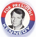 Robert Kennedy Red, White. Blue Picture Pin
