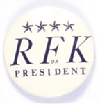 Robert Kennedy RFK Blue Stars Celluloid