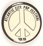 Atlantic City Pop Festival 1969 Peace Sign