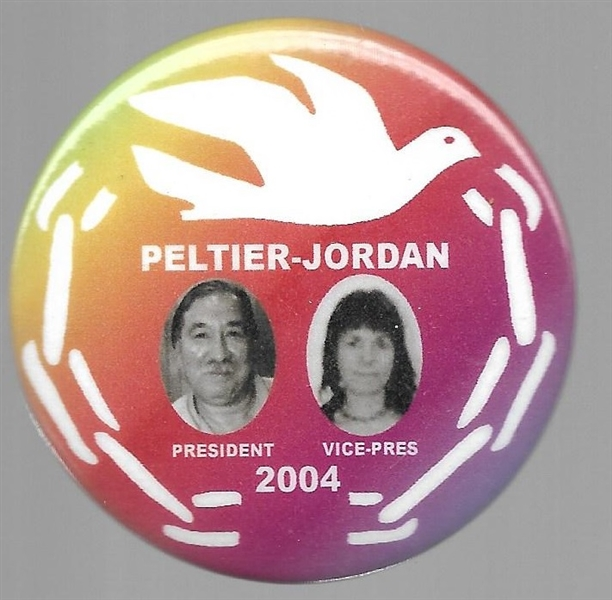 Peltier, Jordan Peace and Freedom Party