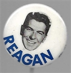 "Reagan Smaller Size 1968 ""Floating Head"" Pin"