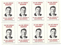 Reagan for Governor Stamps