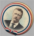 Theodore Roosevelt Colorful Celluloid