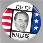 Vote for Wallace 6 Inch Stars and Stripes