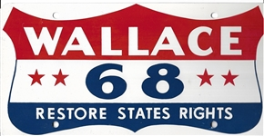 Wallace 1968 Restore States Rights License