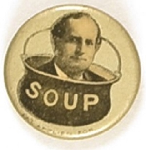 William Jennings Bryan Soup Pin