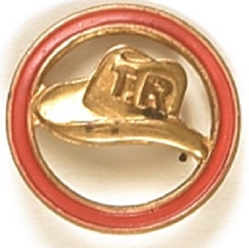 Theodore Roosevelt Embossed Hat in Ring Pin