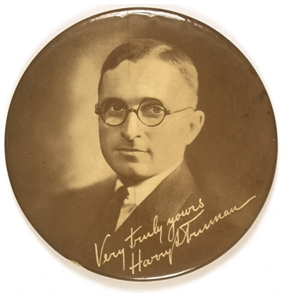 Very Truly Yours, Harry Truman