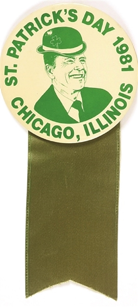 Reagan Chicago St. Patrick's Day
