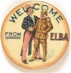 Theodore Roosevelt, Uncle Sam Welcome From Elba