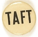 Taft Smaller Blue and White Celluloid