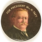 William H. Taft for President Multicolor Celluloid