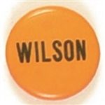 Wilson Unusual Size Yellow, Blue Celluloid