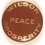 Wilson Peace and Prosperity