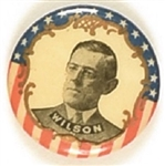 Woodrow Wilson Different Photo, Stars and Stripes