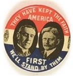 Wilson, Marshall Kept the Faith America First