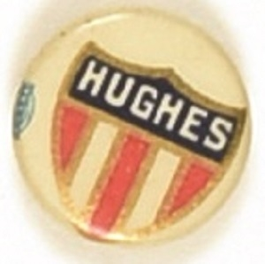 Charles Evans Hughes Shield Celluloid