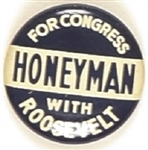 Roosevelt, Honeyman Oregon Coattail