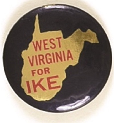 West Virginia for Ike State Set Pin