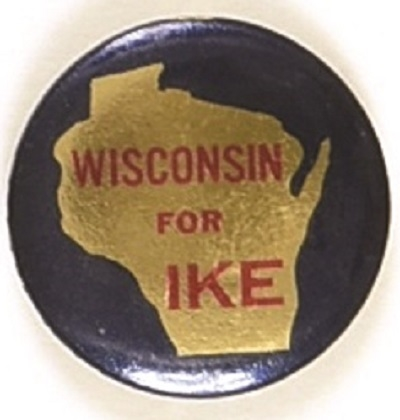 Wisconsin for Ike State Set Pin