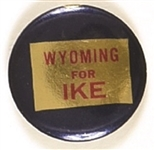 Wyoming for Ike State Set Pin