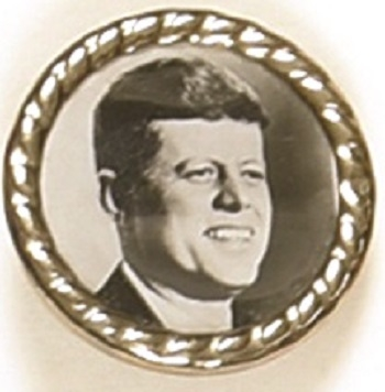 John F. Kennedy Framed Celluloid