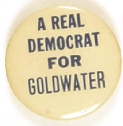 A Real Democrat for Goldwater