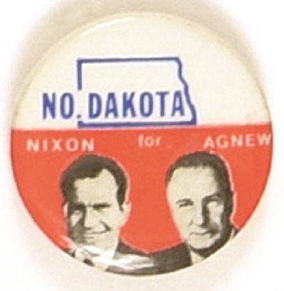 Nixon, Agnew State Set North Dakota