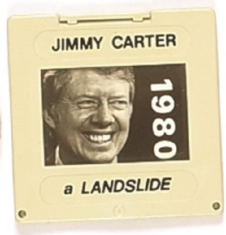Carter 1980 Photo Slide Pin