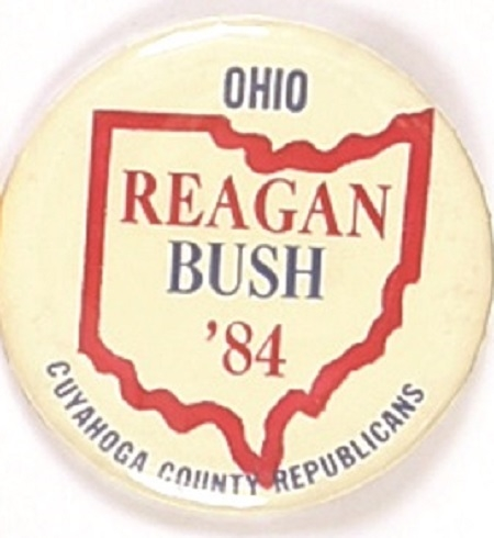 Reagan, Bush Cuyahoga County Ohio