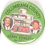 Columbiana County for Kerry, Edwards