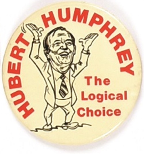 Humphrey the Logical Choice Large Size Pin
